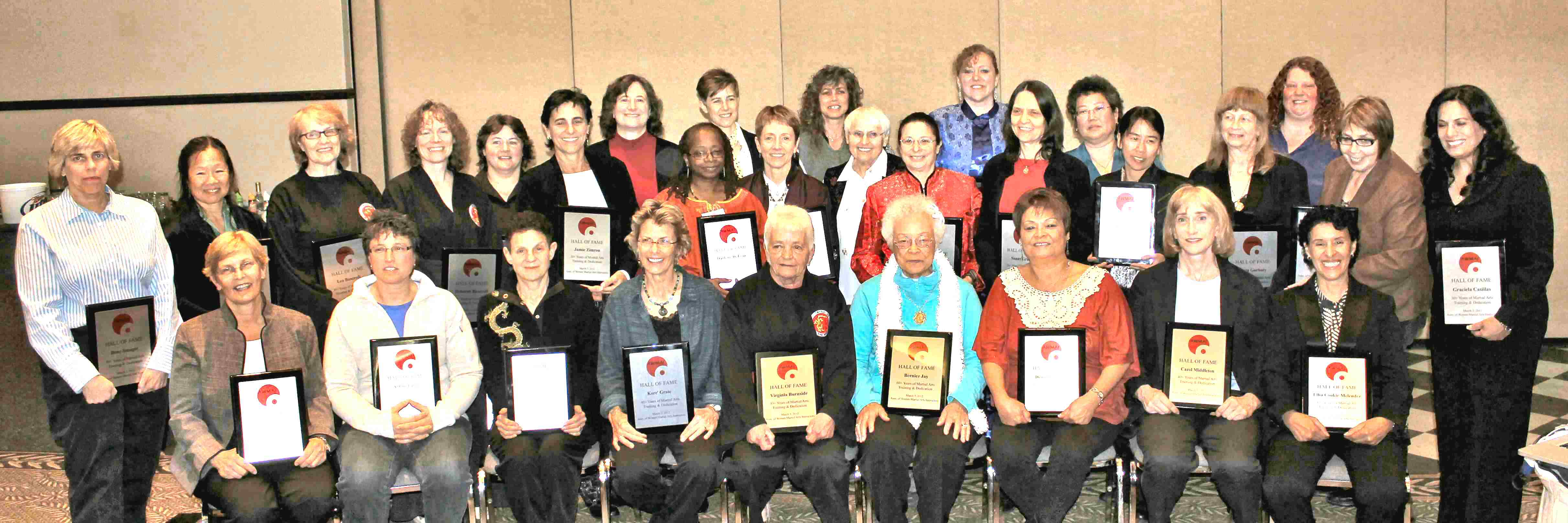2012 AWMAI Hall of Fame recipients